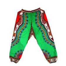 African Trousers Designs 2019 African Dashiki Print Trouser Design Women Pants Traditional African Clothing Print Dashiki Fabirc Pants For Women And Men From Fangfen 26 98