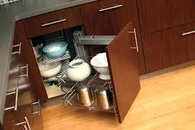 kitchen cabinet corner shelf storge ry rev a shelf premiere blind corner kitchen cabinet system