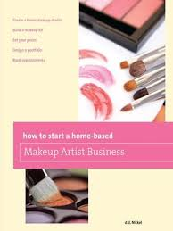 how to start a home based makeup artist business