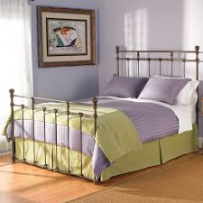 braden iron bed wesley. Sena Iron Bed By Wesley Allen - Old Copper Finish Braden L