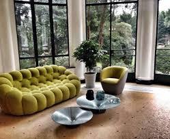 Setti Design A Green Color Scheme And Bubble Sofa Are The Perfect Setti