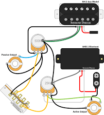 active and passive in the same guitar can it be done? seymour Wiring Diagram For Guitar Pickups Wiring Diagram For Guitar Pickups #93 wiring diagrams for guitar pickups