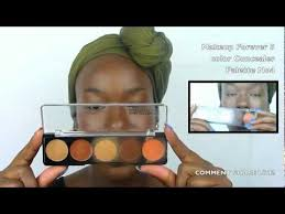 makeup forever five color palette no4