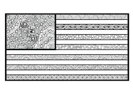 The American Flag Coloring Page The Flag Coloring Page Flag