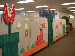 office cubicle decoration. 25 Creative Office Cube Halloween Decorating Ideas Yvotube Com Cubicle Decoration C