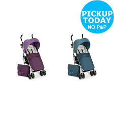 mamas papas cruise pushchair package choice of purple teal from argos