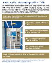 Load Vending Machine Beauteous Gautrain For People On The Move