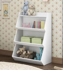 mcaubrey book shelf cubby in white finish by mollycoddle