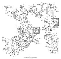 scag swz36 15kh s n 5130001 5139999 parts diagram for engine engine deck