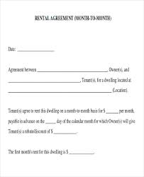 lease agreement sample 8 room rental agreement form sample examples in word pdf