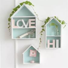 large wooden hanging wall letters