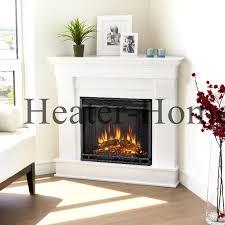 real flame 5950e cau corner electric fireplace in white finish