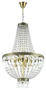 crystal basket chandelier french empire 6 light antique bronze finish clear mini cube bask crystal basket chandelier