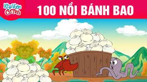 Top 100 NỒI BÁNH BAO - Truyện cổ tích - Phim hoạt hình - Chuyện cổ tích - Hoạt  hình vui nhộn