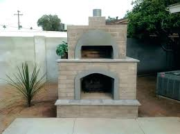 brick oven smoker outdoor fireplaces with pizza ovens oven fireplace combo brick phoenix smoker and plan brick oven