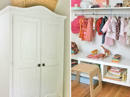 baby clothes storage and display project nursery