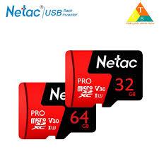 Thẻ nhớ micro sd Netac 32GB U3 Pro Class10 - Hàng Chính Hãng   Nông Trại  Vui Vẻ - Shop