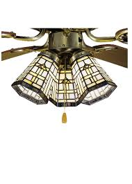 Tiffany Ceiling Fan Light Shades