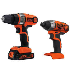 black and decker 20v impact driver. black decker bdcd220ia 20-volt max lithium-ion drill/driver and impact driver with 2 - youtube black decker 20v i