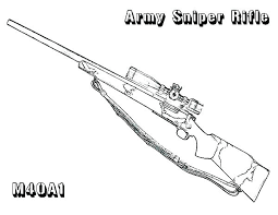 Free Printable Nerf Gun Coloring Pages Pictures Of Guns Ray