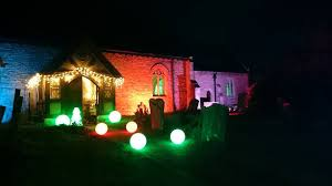 outdoor lighting hire church projects frontier electrical electrician auckland