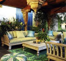 moroccan garden furniture. Comfortable Moroccan Style Patio Furniture Garden N
