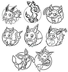 Small Picture Pokemon Dungeon Coloring Pages