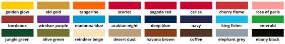Dylon Dye Colour Chart Dypro Dylon Multi Purpose Dye 10g