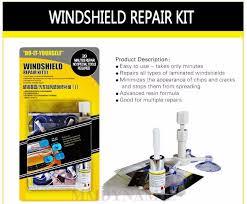 diy windshield windscreen repair kit with advanced resin formula
