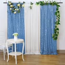 Light Blue Backdrop Curtain Baby Blue Sequin Backdrop Wedding Photography Backdrops Chiffon 8 8ftx8ft White Satin Backdrop Curtains For Parties