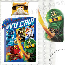 Lego Ninjago Wu Cru Single Bettwäschegarnitur 100% Baumwolle Europäischen  Kids