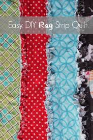 Easy DIY Rag Strip Quilt | Strip quilts, Easy and Rag quilt & Easy DIY Rag Strip Quilt Adamdwight.com