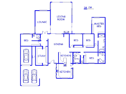 file 92835640084 4 bedroom house for for in george south home 4 room house plans in south africa