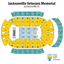 Veterans Memorial Arena Seating Chart Jacksonville Veterans Memorial Arena Seating Jacksonville