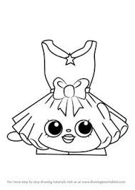 New Shopkins Roxy Ring Coloring Page Doiteasyme
