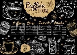 Cafe Menu Template Coffee House Menu Restaurant Cafe Menu Template Design