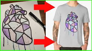 How To Design Art For T Shirt How To Turn Artworks Into T Shirt Prints A Show About Art Ep 2