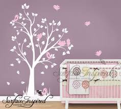 nursery wall decals baby garden tree wall decal for boys and