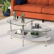 awesome glass coffee tables youll love wayfair with regard to glass coffee tables popular