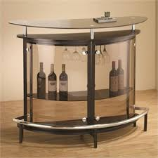 bar corner furniture. coaster contemporary home bar unit with smoked acrylic front corner furniture a