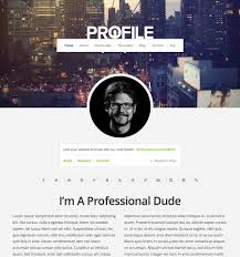 Free Profile Templates Profile Theme Beautiful Responsive WordPress Themes Organic Themes 24