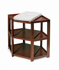 amazoncom  badger basket diaper corner changing table cherry