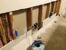 installing in wall speakers home