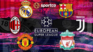 European Super League: Everything you need to know about the new breakaway  league for the elite clubs | What is the Super League | European Super  League News | Football | Teams | Format