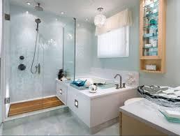 mid century modern bathroom vanity. Mid Century Modern Bathroom With Glass Sink And Cabinet Vanity S