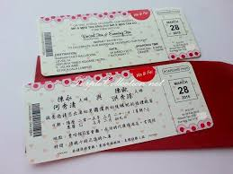 Boarding Pass Wedding Card Air Asia Theme