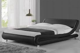 cool bed. Madrid Black Modern Italian Designer Double King Size Bed Frame Cool