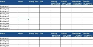 Free Scheduling Templates Weekly Planner Templates Excel Mediaschool Info