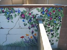 garden mural mural wall murals