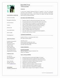 Accounting Resume Examples Unique Customer Service Skills Resume New